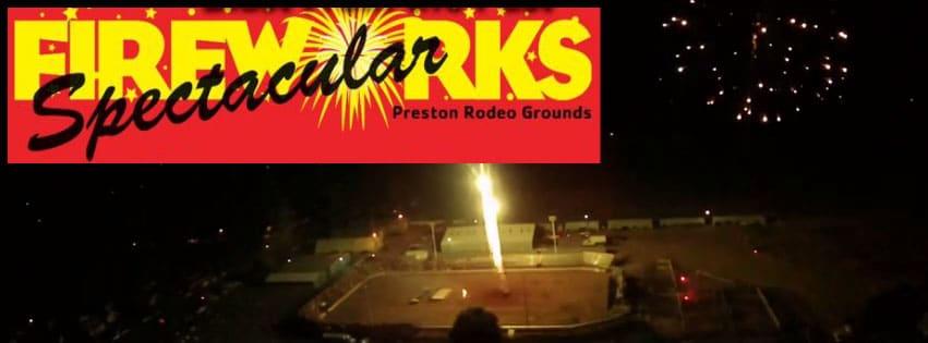 Preston Idaho Fireworks Spectacular