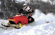 Preston Snowmobile Hill Climb