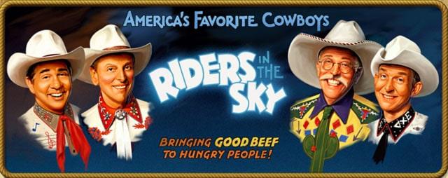 Riders in the Sky Western Quartet