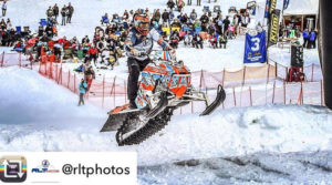 RMSHA Snowmobile Hill Climb near Bear Lake Idaho