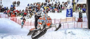 RMSHA Snowmobile Hill Climb near Pocatello Idaho