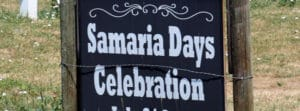 Samaria Days Celebration in Samaria Idaho