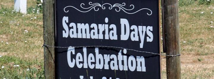 Samaria Days Celebration in Samaria Idaho