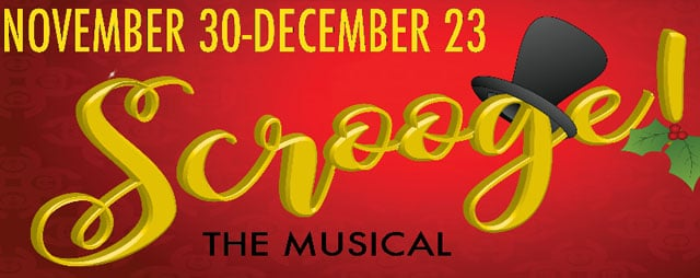 Scrooge The Musical at the Palace Playhouse in Pocatello Idaho