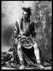 Photo of Shoshone Indian Brave