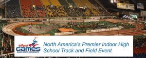 Simplot Games in Holt Arena in Pocatello Idaho