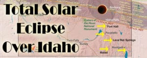 Lodging for the Solar Eclipse over Idaho