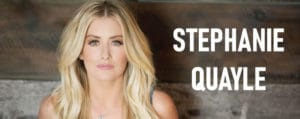 Country singer Stephanie Quayle will be performing in Garden City Utah