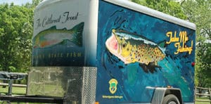 Idaho Fish and Game Take me fishing trailer