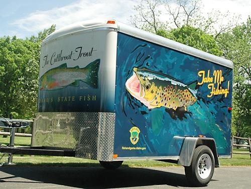Take me fishing trailer southeast idaho for Take me fishing