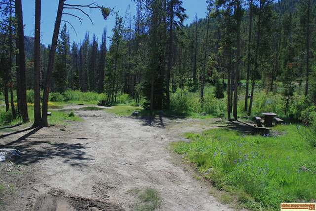 Eightmile Canyon Campground Southeast Idaho