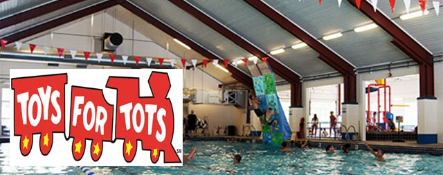 Toys For Tots Swimming Event in Lava Hot Springs