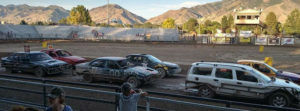 Trash Car Racing in Malad Idaho
