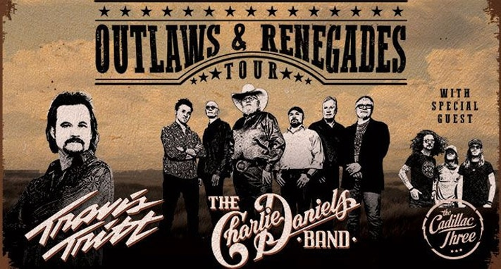 Travis Tritt & The Charlie Daniels Band at Fort Hall Idaho